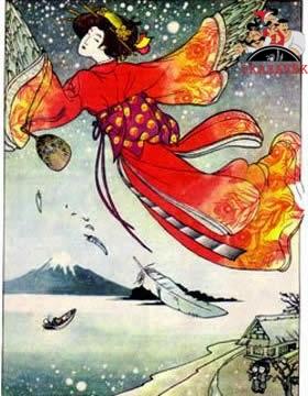 Журавушка японская сказка