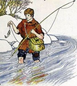 Эзоп: рыбак и рыбка читать полностью басню с картинками ...